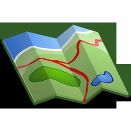 Mapa Łukta